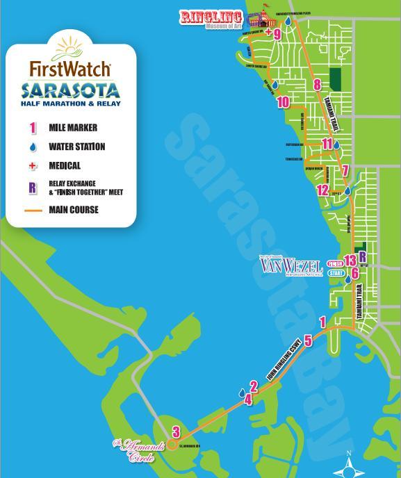sarasota-half-marathon-map
